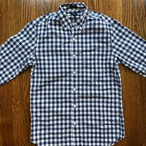 J.Crew flex men's button down long sleeve shirt